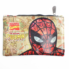 New Arrival Spider-Man Wallet Batman Superman Suicide Squad Deadpool Long Purse Phone Bags Make Up Bag Multifunctional Wallets