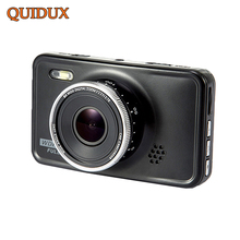 QUIDUX 3.0 inch Car DVR Full HD 1080P Novatek Infrared Night Vision WDR Video Registrator Cycle Recording Motion Detect G-Sensor