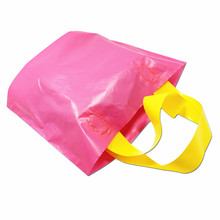 30Pcs/Lot Variety of Size Rose Plastic Shopping Bag Eco-friendly with Handles Shopping Bags