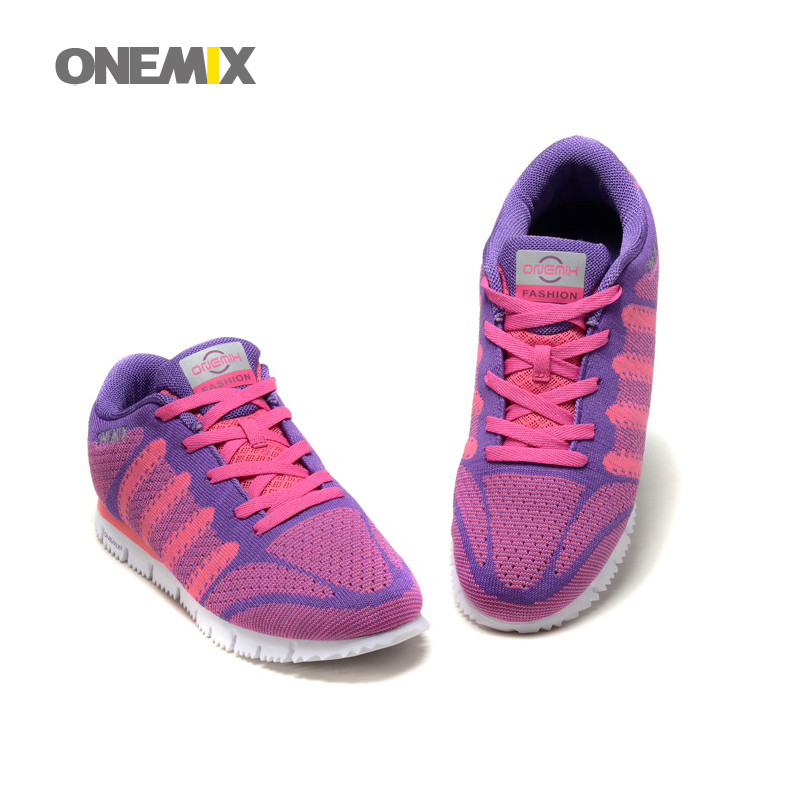 ONEMIX 2016 popular women running shoes spring/summer new sport shoes comfortable walking shoes size us 4-7<br>
