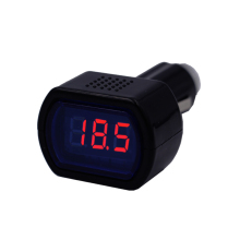 DC 12V-24V LED Display Cigarette Lighter Electric Voltage Meter tester For Auto car battery Voltmeter indicator