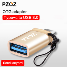 PZOZ OTG Type C to usb 3.0 Adapter for Macbook Google xiaomi mipad 3 2 Mobile phone Tablet Charge Data cable Type-c USB OTG hub