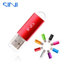 SINI S04 Hot Sale USB Flash Drive Real Capacity Pen Drive 64/32/16/8/4GB Pendrive Metal USB Stick Free shipping usb memory stick(China)