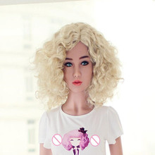TPE sex doll head for love doll, silicone adult dolls heads, oral sex products for men
