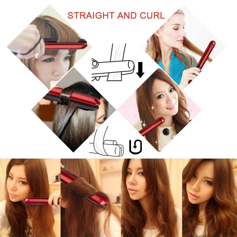 Professional-Hair-Straightener-LED-Display-Flat-Iron-Straightening-Irons-Planchas-Straight-Hairstyle-Styling-Tools (3)