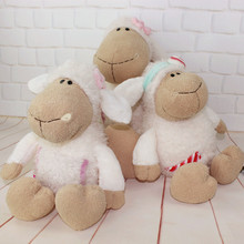 High Quality About 40cm Nici Amy Jolly Sheep candy sheep flower sheep Plush Toy Birthday Day Gift Children's Day Present 1pcs