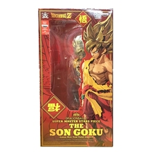 Original Banpresto Dragon ball Z DBZ SMSP Goku PVC Figure Juguetes Brinquedos Toys New Year Edition