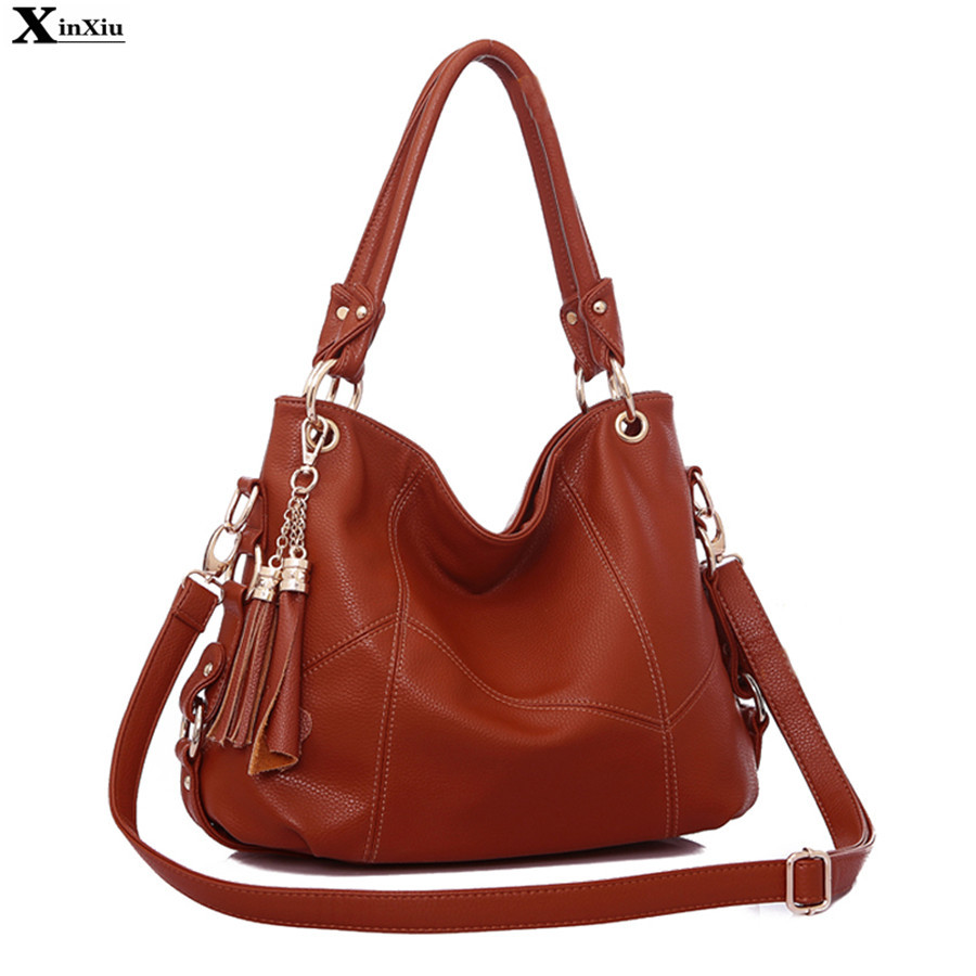 Tassel Shoulder Bags 2017 Designer Handbags High Quality PU Leather Cross-body Women Messenger Bags Tote Fast Delivery Russia<br><br>Aliexpress