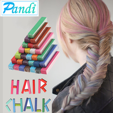Hair color chalk temporary hair dye eyebrow paint tint crazy wax pastel para pigment product stick crayons for coloring hair