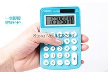 1 Piece Deli 1209 Calculator Mini Calculators Office Small Business portable calculator(China)