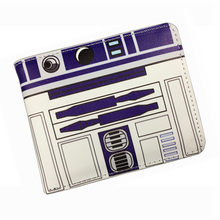 Comics DC Marvel Bioworld Wallet Star Wars StarWar Animation Purse Film Movie Black Knight Leather Card Money Bags Short Wallets