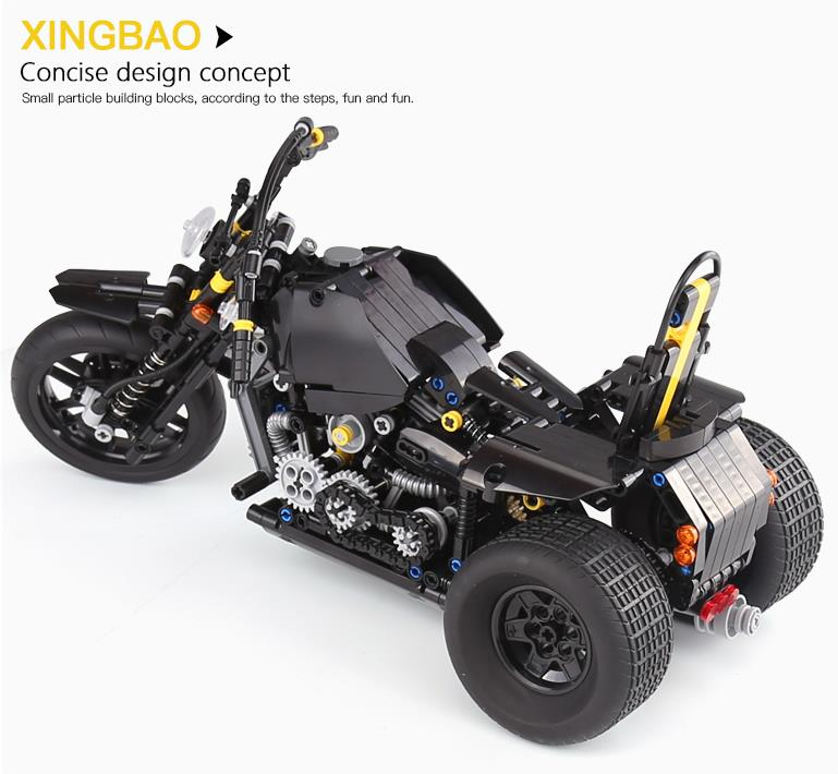 Xingbao XB-03020 Harley Davidson Motorcycle Building Block 41