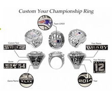 Full Customized your University ,Class , Company ,Champions, Sports , Game Ring