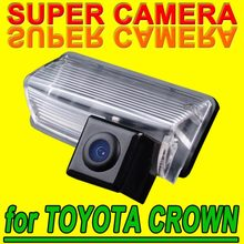 For Sony CCD TOYOTA CROWN Corolla Reiz Car Rear View Back Up Reverseing Parking Autoradio HD car Camera Kit for GPS Navigation