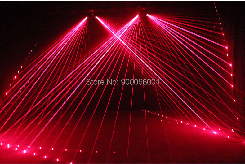 DMX disco Scanner Laser Stage Light club Dance pattern effect show LED beam Projector for home party (8)