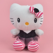 20cm hello kitty plush toys High-quality Stuffed dolls for girls kids toys gift action & toy figure & hobbies Free Shipping(China)