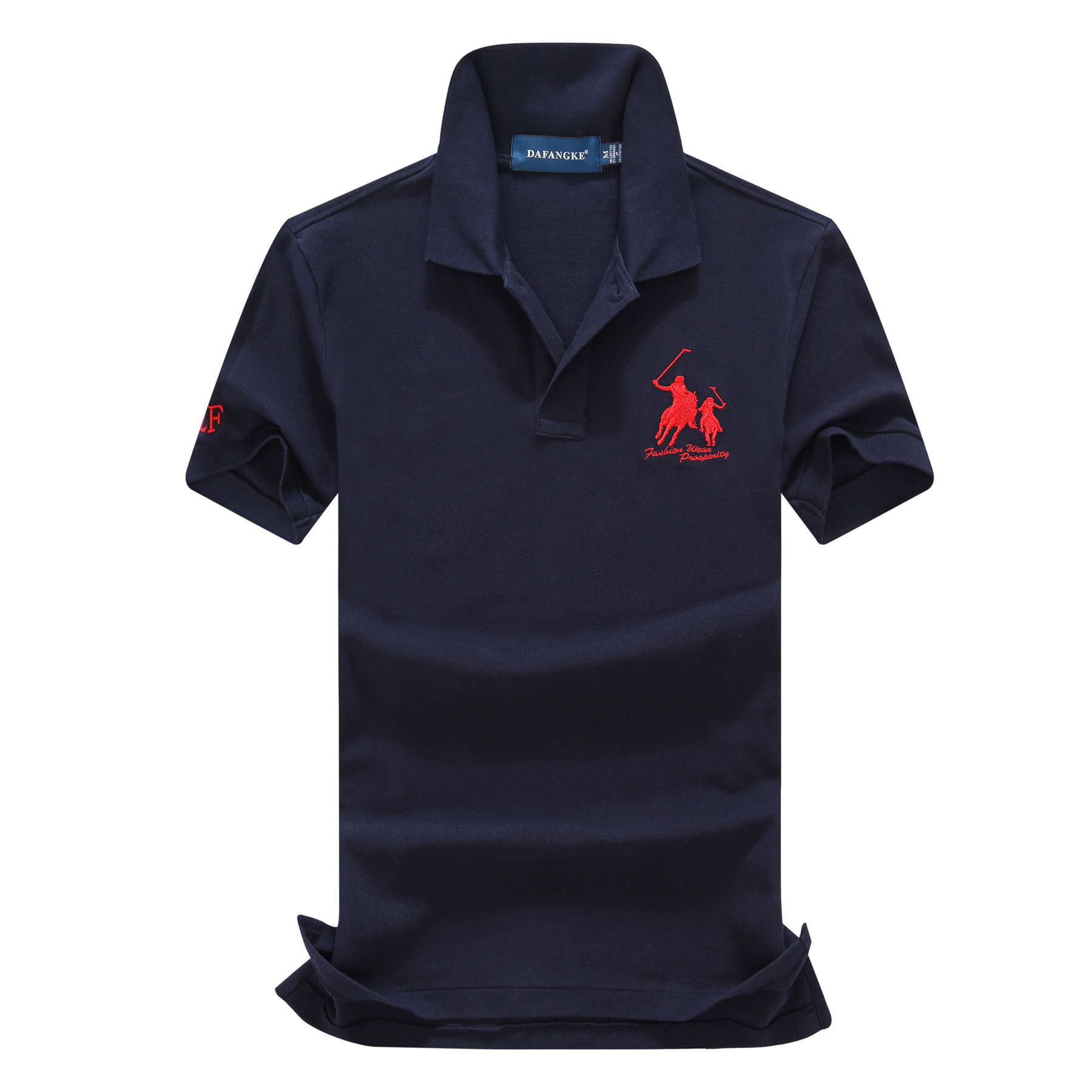 On sale 16 Colors 2019 summer 100% mesh cotton Big horse mens short sleeve polos mens shirts tops No.3 embroidery logo 8