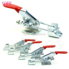 1Pc Hand Tool Metal Holding Capacity Latch Type Toggle Clamp For GH-40323 #S018Y# High Quality