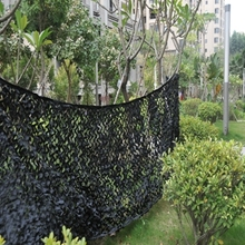 tank camo Sunshade camo fabric netting black army netting hunting camouflage net camo cover netting 6*8M(236in*315in)