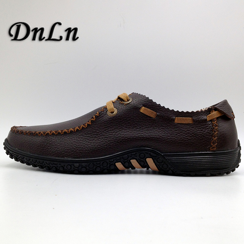 Size 37-47 MenS Loafers Leather Suede Loafers Men Leather Moccasins Slip On Formal Shoes Male Boat Shoes D30<br>