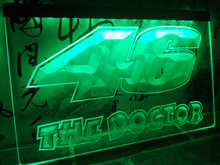 LD542- Valentino Rossi 46 The Doctor   LED Neon Light Sign     home decor  crafts