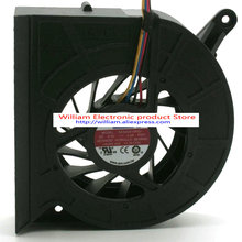 New Original for AVC 8cm BASA0819R5U 80*80*15MM 5V 0.6A Usb drum wind machine router silent cooling fan(China)