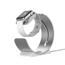 Aluminum Charger Dock Stand iWatch Charging Holder Stand Dock Station Bracket Apple Watch