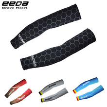 EEDA UV Protection Cycling Arm Sleeves Breathable Sun Protection MTB Bike Riding Armwarmers Bicicleta Armsleeve