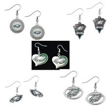 5Pairs American Football Philadelphia Eagles Sport Team Dangle Earrings Jewelry For Fans Gift(China)