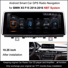 "10.25""Touch Android Car Radio Stereo for BMW X5 F15 (2014-2016) Original NBT System Intelligence Car Multimedia Player(China)"