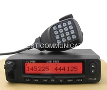 Durable and tough 128 channels PC programable mobile car transceiver from China TC-UV55(China)