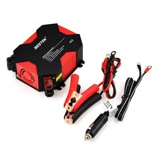 BESTEK 400W Power Inverter DC 12V To AC 110V Car Adapter 5A 4 USB Charging Ports 12V DC AC Invertor Portable Auto Power Supply(China)