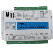 6 Axis Programmble USB Cable Motion Control Card for factory and CNC System manufacturer