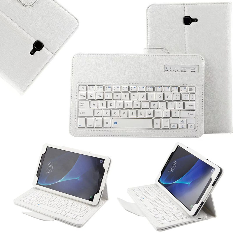 Magnetically Detachable ABS Bluetooth Keyboard Portfolio PU Leather Case Cover For Huawei MediaPad M3 8.4 BTV-W09 BTV-DL09<br>