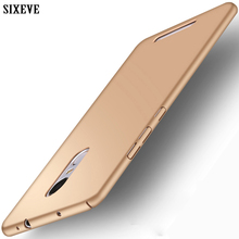 SIXEVE Top Quality Case For Xiaomi Redmi Note 3 III Note3 Pro Mobile Phone Cover Ultrathin Hard Plastic PC Matte Back Casing