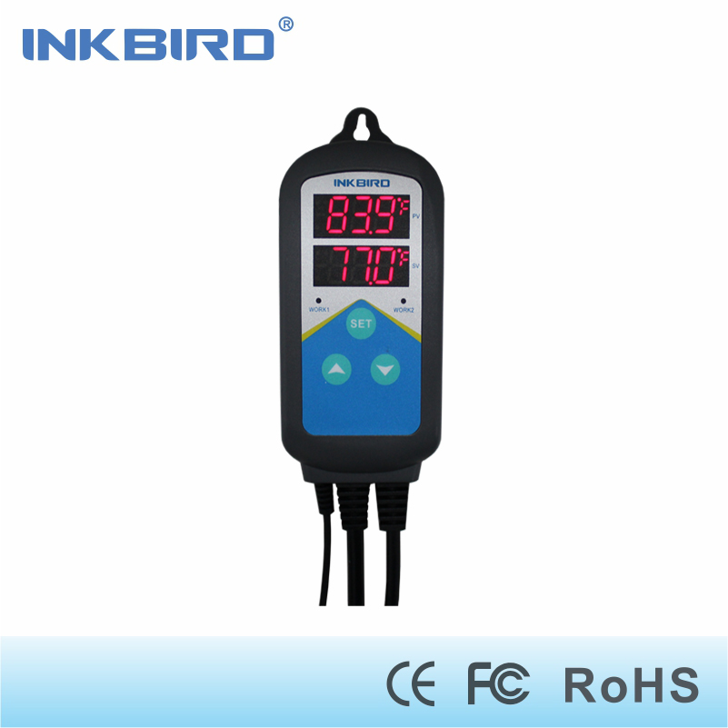 ITC-306T Pre-wired Electronic Heating Thermostat Temperature Controller and Digital Timer Controller Without Cooling Controlling<br>