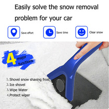 2016 SEBTER 3 in 1 Snow Shovel Scraper Removal Wiper Clean Tool Auto Car Vehicle And Useful Ice Remove Tool hot selling