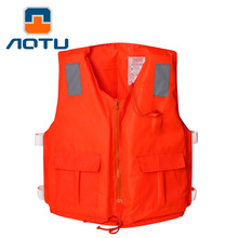 Quality Professional Life Jacket For Adults Oxford Life Vest Salva-vidas Swimwear For Water Sports Boating Vest For Fishing
