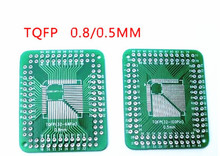 Transfer plate QFP FQFP TQFP 32 44 64 80 100 LQFP patch turn  line 0.5/0.8mm 20PCS