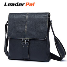 LeaderPal Genuine Leather Men Bag Men Messenger Bags Fashion Male Men's Small Briefcase Man Casual Crossbody Shoulder Handbags