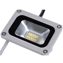 LED Flood Light 10W 220V 10LED Waterproof Cold/Warm White lights Floodlights Street Square Highway Wall Billboard Home Garden
