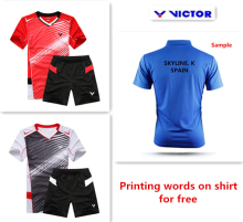 For Wholesale 2015 new badminton shirt badminton clothes table tennis shirt table tennis clothes T shirt