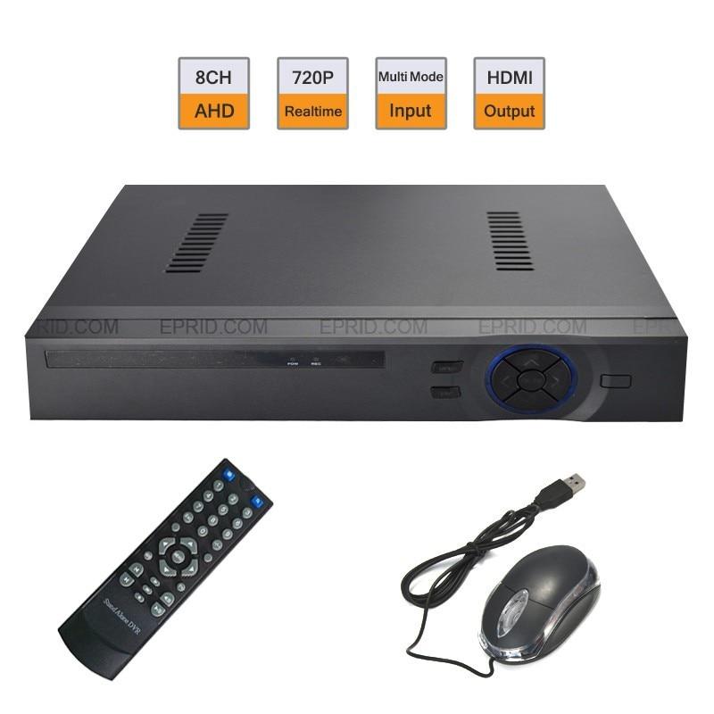 8CH AHD-M DVR 1080P NVR Video Recorder Security CCTV DVR Hybrid Multi Mode<br><br>Aliexpress