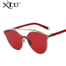 XIU 2017 New Women Brand Designer Sunglasses Classic Cat Eye Sexy Sun glasses Retro Fashion Summer Eyewear High Quality UV400