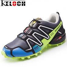 Keloch 2017 Big Size 39-46 Men Running Shoes Outdoor Breathable Jogging Sport Shoes For Men krasovki Summer Walking Sneakers