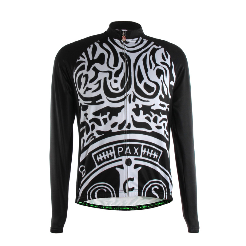 TVSSS Mens Long Sleeve Cycling Jerseys with Patterns Quick Dry Synthetic Fabric Bike Clothing<br><br>Aliexpress