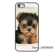 Yorkshire Terrier Cute Tiny Puppy mobile phone cover case for iPhone 5 6S Plus 7 7Plus Samsung Galaxy S5 S6 S7 edge S8 plus
