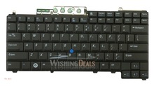 New For Dell Latitude D630 XFR keyboard US layout black color with pointer Free shipping(China)