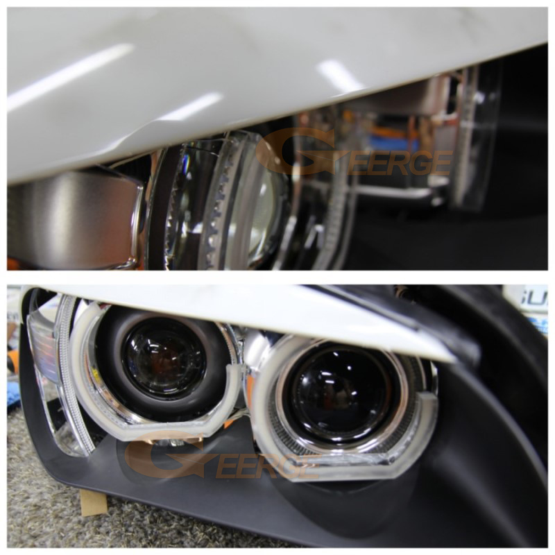 For BMW 3 Series E90 E92 E93 Coupe and cabriolet 2007-2013 DTM M4 Style led Angel Eyes kit(23)
