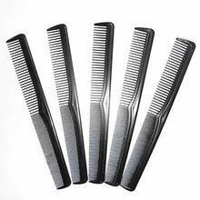 5/10Pcs Salon Hair Styling Hairdressing Antistatic Barbers Detangle Comb Black Hot(China)